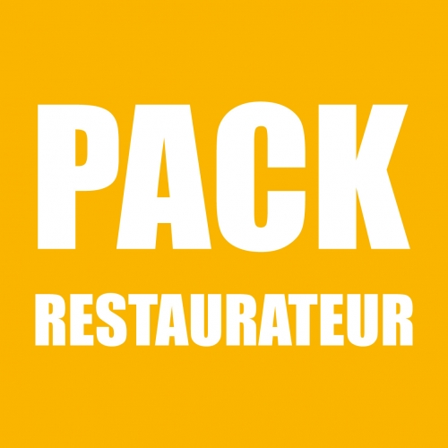 Pack restaurateur