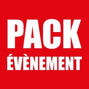 Notre Pack évènementiel