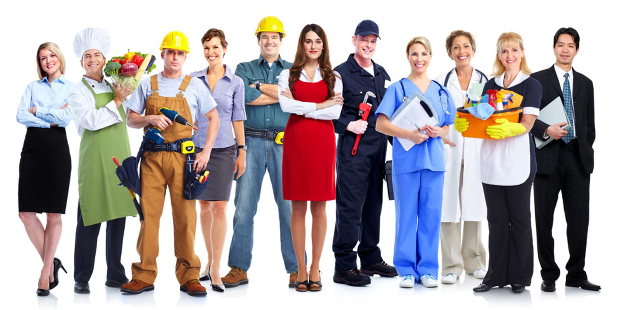 divers artisans, metier du bâtiment, bureautique, restauration